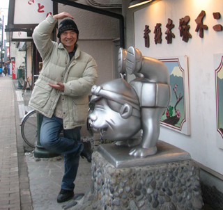 赤塚不二夫記念館でシェー!
